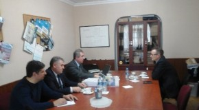Ambassador of the Federal  Republic of Germany visited to the Economic Research Center's office